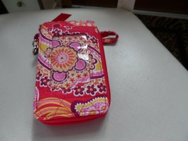 Vera Bradley all in one wristlet in Raspberry Fizz pattern  - $17.00