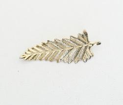Vintage Gold Tone Fern Leaf Brooch H4 - $9.99