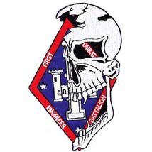 Usmc 1st Combat Engineering Battalion Super Breed Patch - $11.87