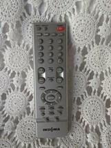 Insignia TV Remote Control Silver - $9.69