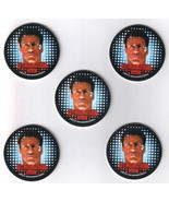 Demolition Man Movie Trading Cards Promo Pogs Set of 5 Skybox 1993 MINT - $3.99