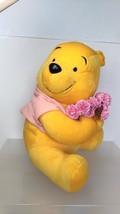 Disney   Winnie  the  Pooh   Pink Bouquet   Plush Doll  ( H-12 in )  Seg... - $6.58