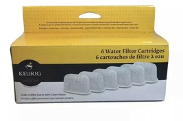 KEURIG Water Filter Cartridges 6 Pack - NEW - FREE SHIPPING - $12.21