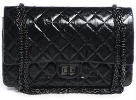 AUTH CHANEL LIMITED EDITION 2017 SO BLACK CAVIAR MEDIUM BOY FLAP BAG RECEIPT