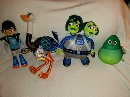 Disney Miles From Tomorrowland Plush Set - Miles, Merc, Blodger, Watson ... - $153.44