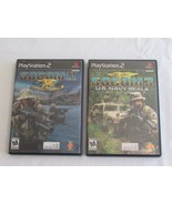 SOCOM - Sony Playstation 2 PS2 Game Lot - Socom 2 & 3 - II III Tested Work - $14.99