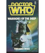 Doctor Who: Warriors of the Deep Terrance Dicks - $4.50