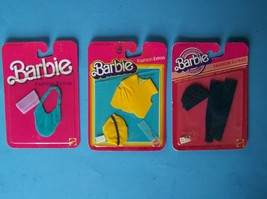 (3) 1983 FASHION EXTRAS #4906 Vest Cap #4907 Hat & Leggings #7957 Purses... - $23.76