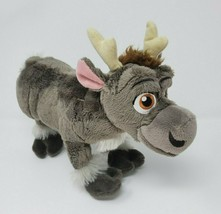 "11"" DISNEY STORE FROZEN BABY SVEN STUFFED ANIMAL PLUSH TOY SOFT GREY REI... - $23.38"