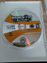 Nintendo Wii Madden NFL 09: All-Play ~ COMPLETE image 3