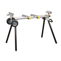Heavy Duty Mobile Miter Saw Stand by Chicago Electric - $130.89