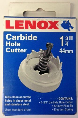 "Primary image for Lenox 20103-28CHC 1-3/4"" Carbide Hole Cutter USA"