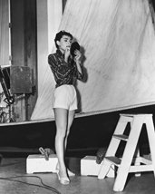 Audrey Hepburn In Sabrina On Set 16X20 Canvas Giclee - $69.99
