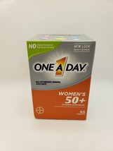 One A Day, Women's 50 + Complete Multivitamin 65 Tablets Exp 10/2021 - $9.61