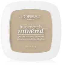 L'Oreal Paris True Match Mineral Pressed Powder, Light Ivory, 0.31 Ounce - $5.61