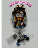 Mary Poppins Rhinestone Retractable Badge Reel - $19.55+