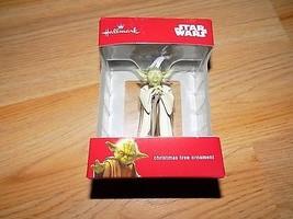 Hallmark Disney Star Wars Yoda 2016 Christmas Holiday Ornament New - $17.00