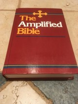 AMPC AMPLIFIED CLASSIC BIBLE LARGE PRINT HARD BACK 1987 EDITION NICE - $40.75