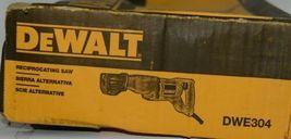DeWALT DWE304 Reciprocating Saw Corded 10 AMP Flush Cutting New in Box image 4