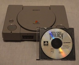 PS1 PlayStation 1 Console Only (SCPH-9001) w/ Mortal Kombat Trilogy TEST... - $32.92