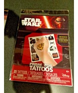 Star Wars 25 Temporary Prism FOIL Tattoos Pack - $6.81