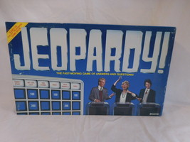 Jeopardy Board Game Complete 1986 Pressman Ages 8 + Vintage - $14.01