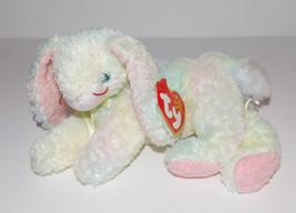 "Ty Beanie Baby Cottonball Plush 8"" Bunny Rabbit Stuffed Animal Retired T... - $3.99"