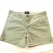 American Eagle Women's Midi Stretch Casual Shorts Green Size 8 AEO - $14.72