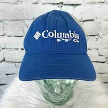 Columbia PFG Mens One Sz Hat Blue Mesh Stretch Back Performance Fishing ... - $18.80