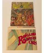 Ringling Bros Vintage 1977 Program with Fold Out Full Size Poster 107th ... - $14.99