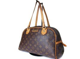 Authentic LOUIS VUITTON Montorgueil PM Monogram Canvas Shoulder Bag M95565 - $369.00