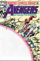 The Avengers Comic Book #233 Marvel Comics 1983 NEAR MINT NEW UNREAD - $4.99