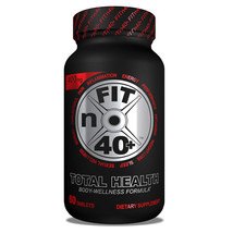 FITn40+ Plus - TOTAL HEALTH - Body Wellness Formula 60 Tablet Per Bottle... - $29.65+