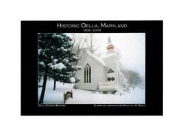 PICTURE POSTCARD- OELLA CHURCH BUILDING, HISTORIC OELLA, MARYLAND 1808-2... - $1.46