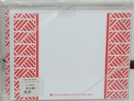 Rosanne Beck 211 0954R Red Folded Note Grad Cap Cards and Envelopes Package 10 image 3
