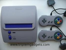 Retro Super Nintendo / SNES Console with Everdrive - Plays Super NES Car... - $152.72