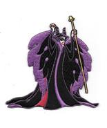 Walt Disney's Sleeping Beauty Maleficent Figure Embroidered Patch NEW UN... - $7.84