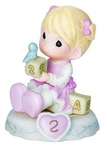 Precious Moments, Growing In Grace, Age 2, Bisque Porcelain (Blonde|Age 2) - $42.54