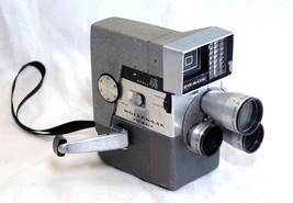 WOLLENSAK Eye Matic 46 Vintage Film Movie Camera TURRET Cine Raptar lens... - $76.50