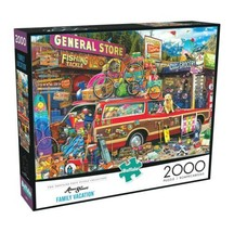 2000 Piece Jigsaw Puzzle Buffalo Games in x 26 in, Family Vacation - NEW - $28.45