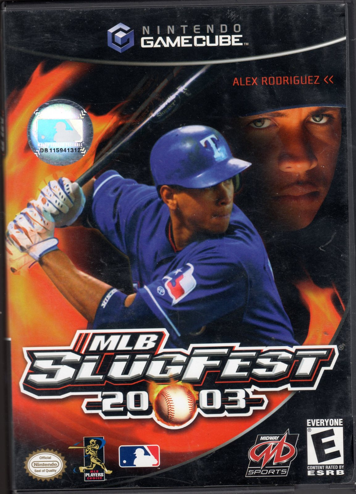Primary image for  	 MLB Slugfest 2003 Nintendo Game Cube