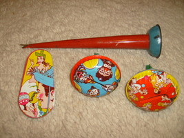Lot Of 4 Vintage Noisemakers - New Years - $8.60