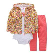 3pcs of girl clothing cotton hooded long sleeve - $23.86+