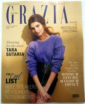 Grazia January 2020 Tara Sutaria Bhuvan Bam Prajakta Koli India Fashion ... - $11.99