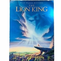 The Lion King Poster Movie Display Theater Theatre Lobby Disney 40X27 De... - $241.83