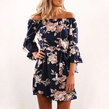 Fall 2019 flower dress lightweight perfect for transition weather  - $20.00