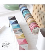 Paper Tapes 4pcs Creative Colors Washi Notebook Label Scrapbook Decor St... - $6.99