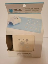 Aspen Flurry Pattern Martha Stewart Punch All Over The Page - $32.90