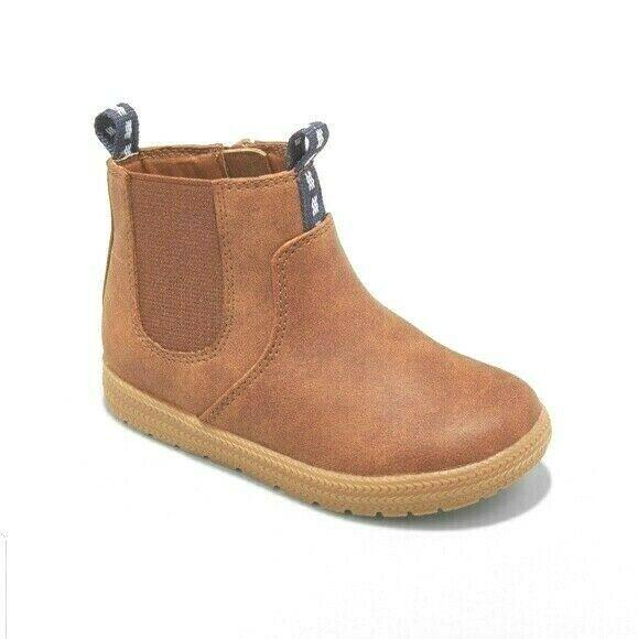 Cat & Jack Boys Toddler Size 7 Brown Berkley Fashion Boots NWT