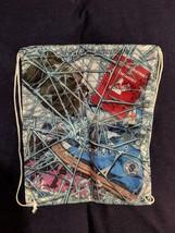 MARVEL GEAR + GOODS Exclusive SPIDER-MAN Webbed Cinch Bag Drawstring Loo... - $9.49
